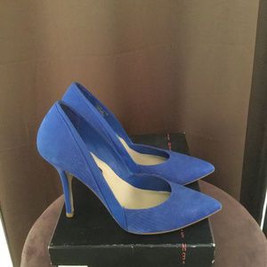 Steve Madden Royal Blue Stiletto High Heels